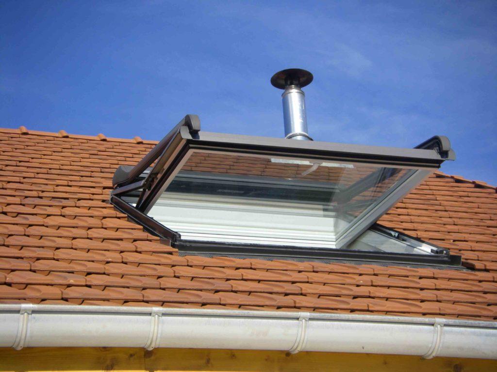 fenêtre de toit côte d'or