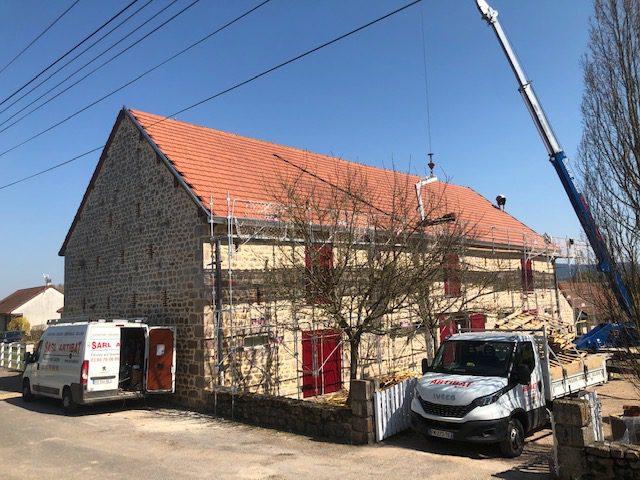 pose de couverture tuile mécanique Etang-sur-Arroux