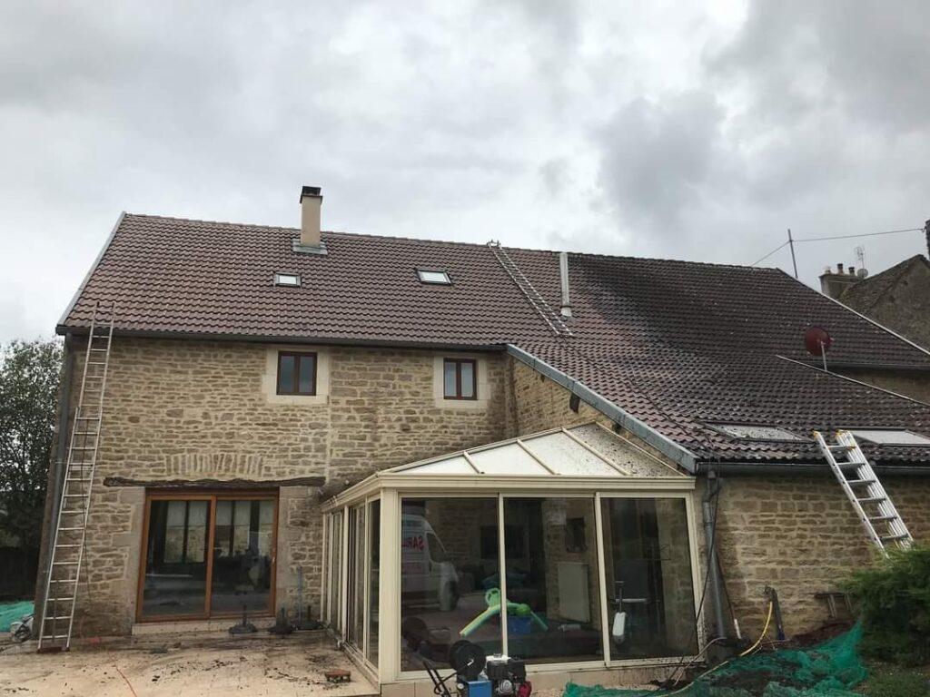 entretien de toiture à Dijon